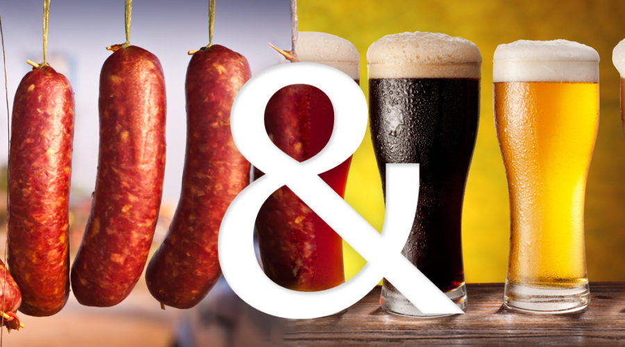 Μπύρα και λουκάνικα
